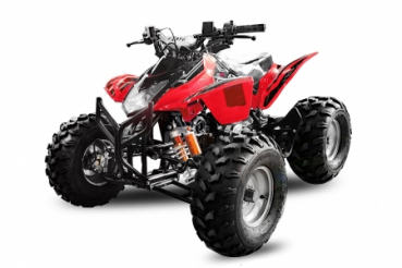 125cc Grizzly Quad Offroad Automatik + RG Kinderquad in red