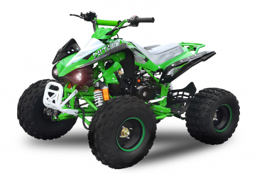 125cc SPEEDBIRD SPORT Automatic RS8-A Deluxe  QUAD  ATV Quad Offroad Kinderquad in green